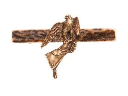 1405 sokol na rukavici parohova spona