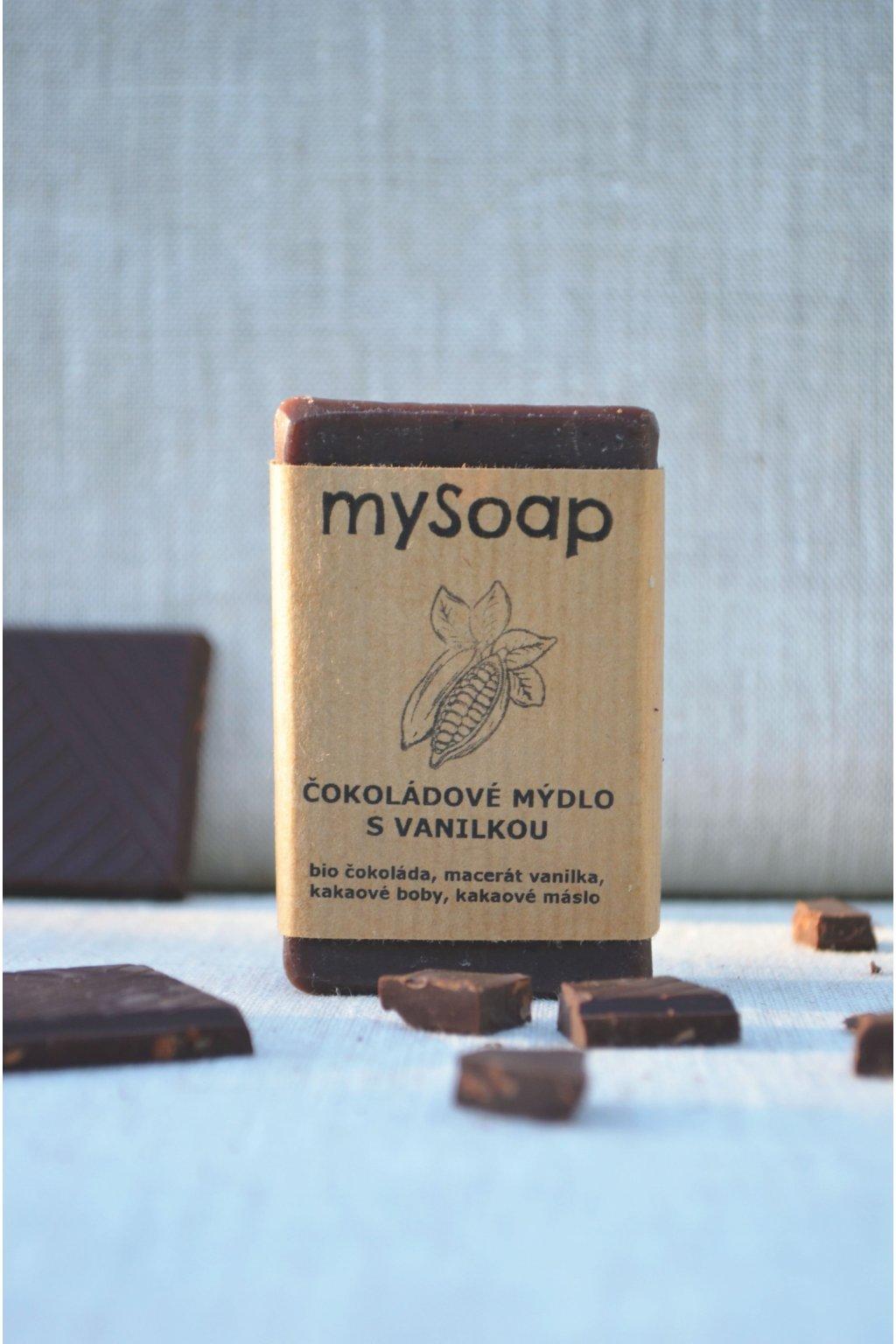 Čokoládové mýdlo s vanilkou