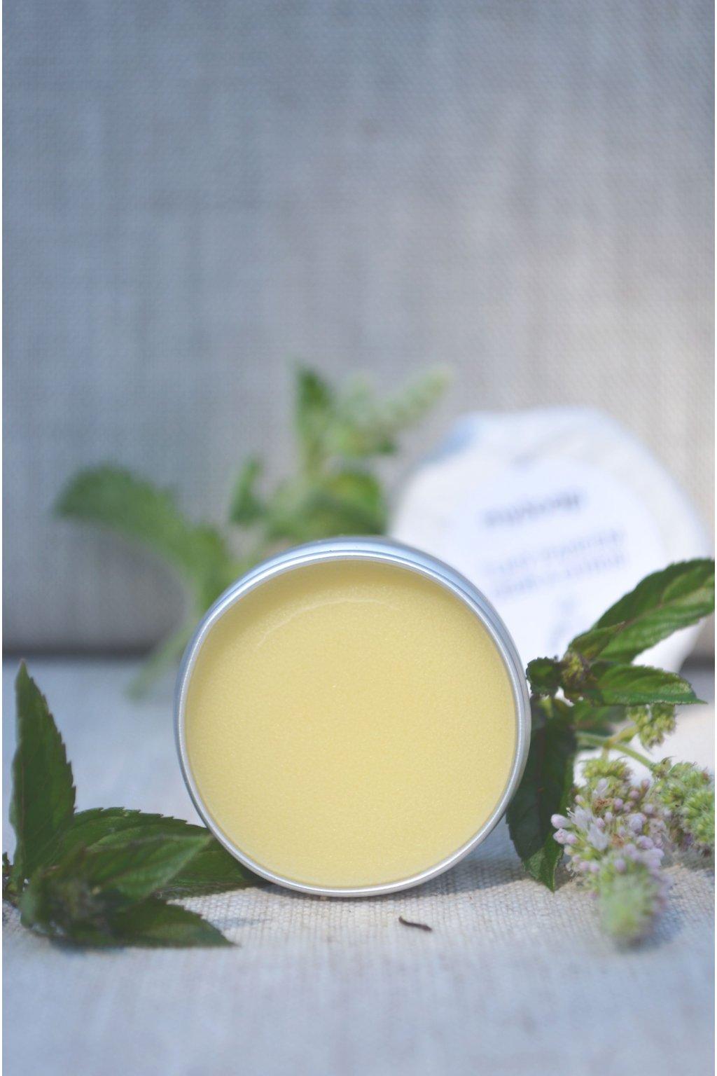 Tuhý parfém máta a lemongras
