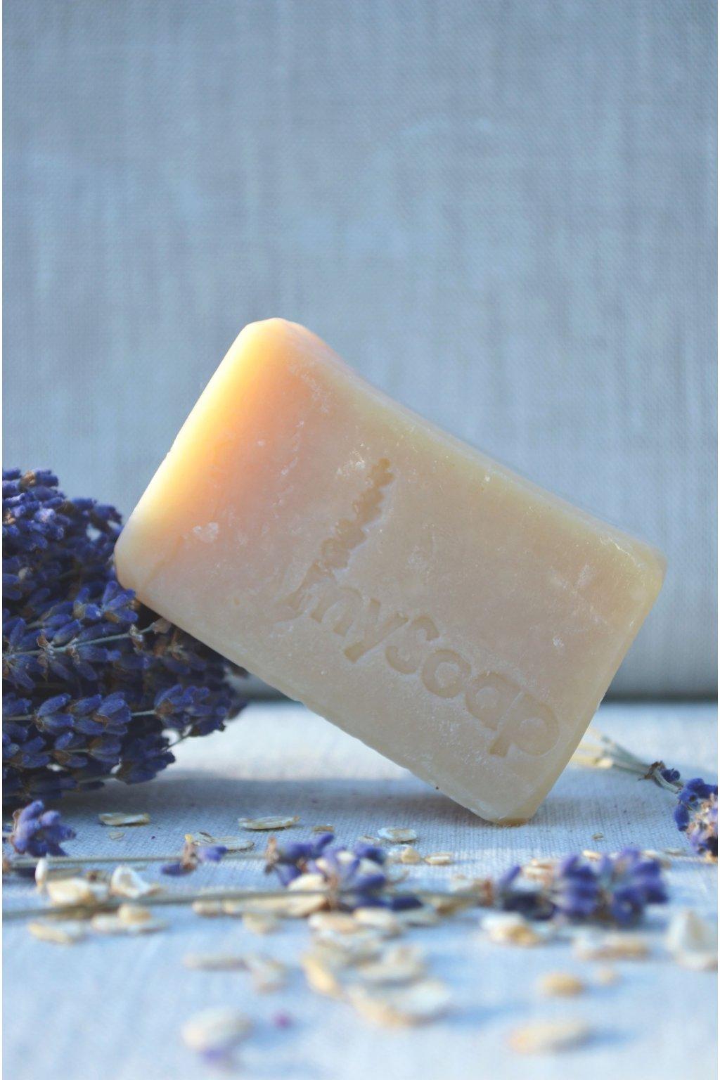 Levandulové mýdlo a šampón s allantoinem a ovesnými vločkami