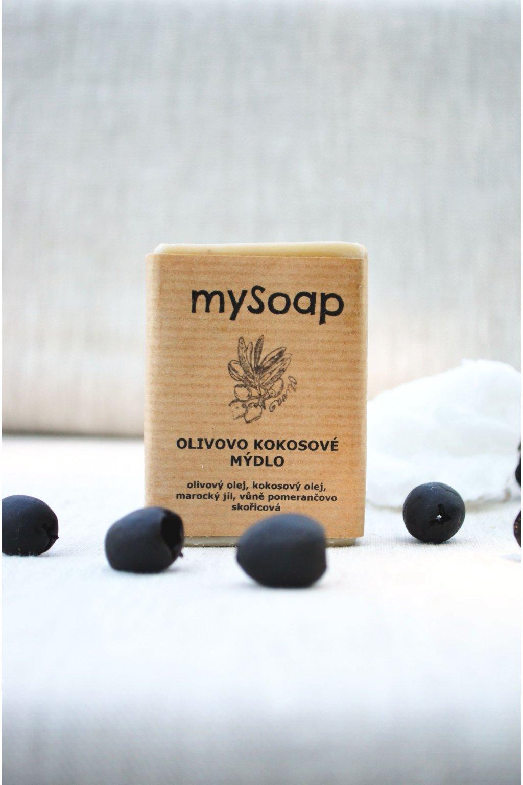 Olivovo-kokosové mýdlo a šampón