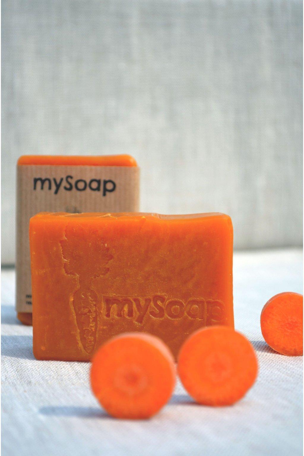 Mrkvové mýdlo a šampón