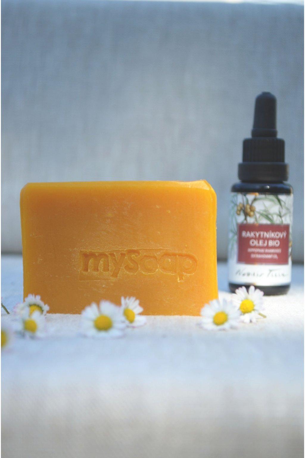Rakytníkové mýdlo a šampón