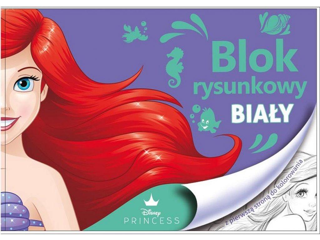 BENIAMIN Blok na kreslení s omalovánkami Ariel Papír, 29x21 cm