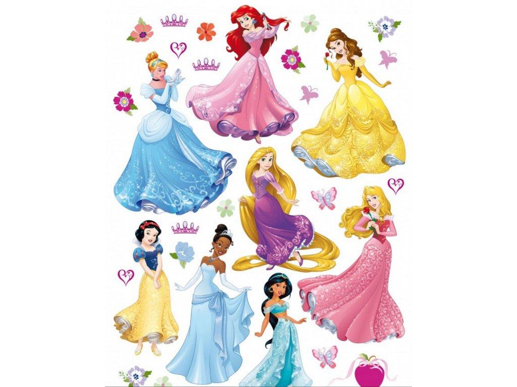 Dekorace na zeď Princezny Disney MAXI
