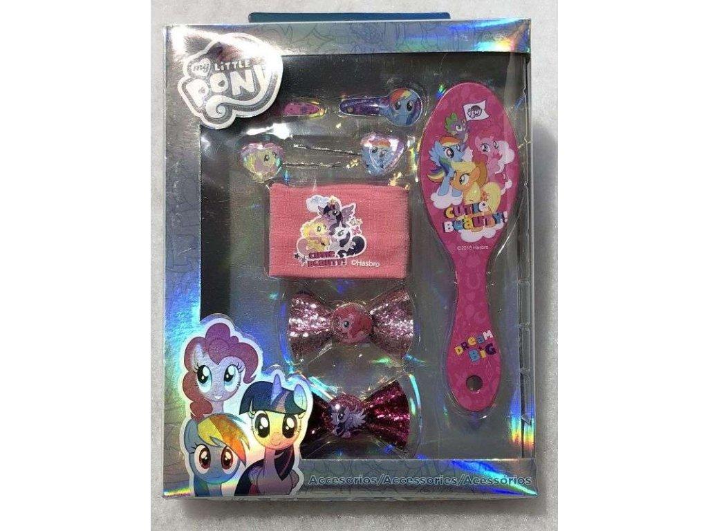 Doplňky do vlasů v dárkové krabičce My Little Pony