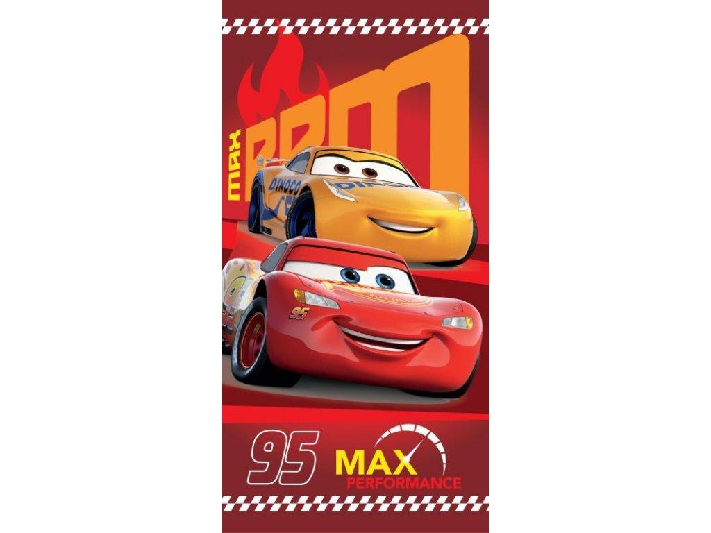 Osuška Cars 95 red 70/140