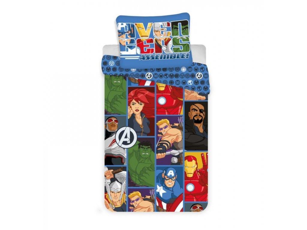 Povlečení Avengers D3 micro 140/200, 70/90