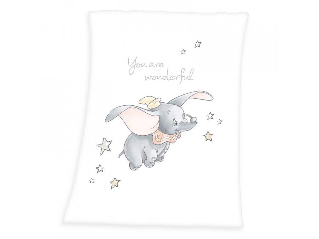 HERDING Soft fleece deka Dumbo Polyester, 75/100 cm