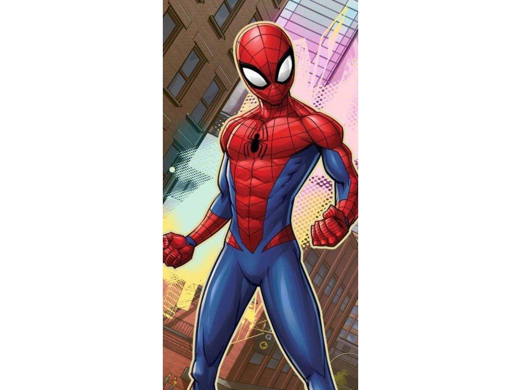 Osuška Spiderman město 70/140