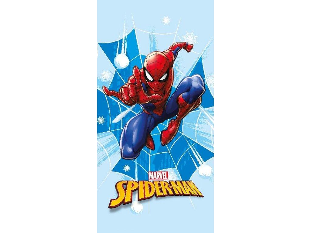 FARO Osuška Micro Spiderman Polyester, 70/140 cm