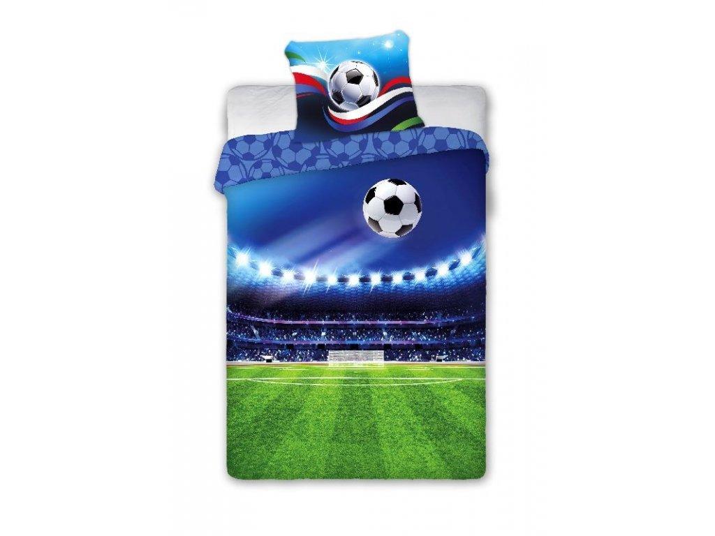 FARO Povlečení Fotbal Bavlna, 140/200, 70/90 cm - SKLADEM