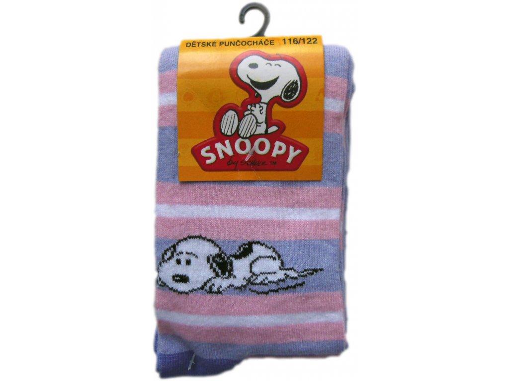 Punčocháče Snoopy