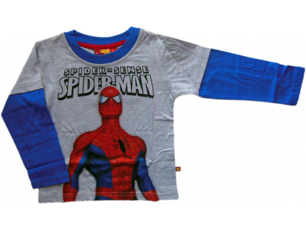 Triko Spiderman s dlouhým rukávem 952-510