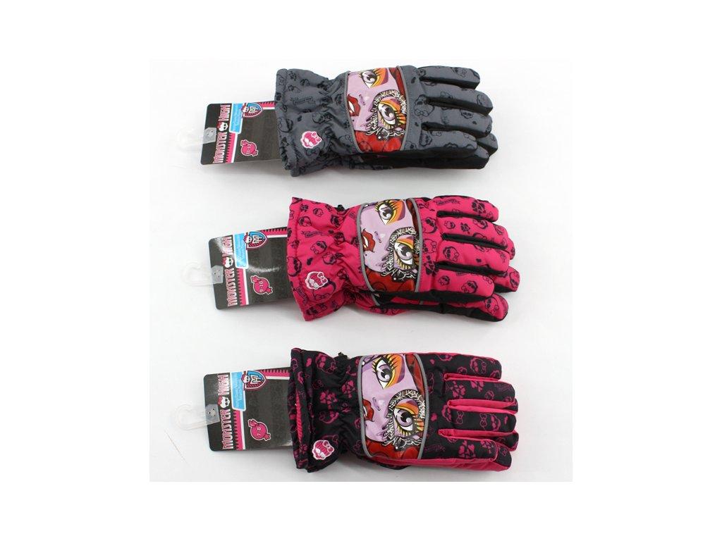 Lyžařské rukavice Monster High 800-080