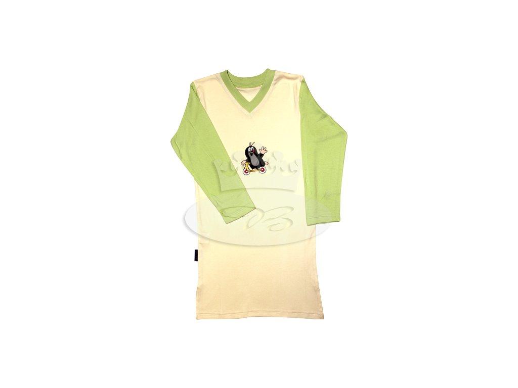 Dívčí noční košile dlouhý rukáv KRTEČEK 008 vzor C