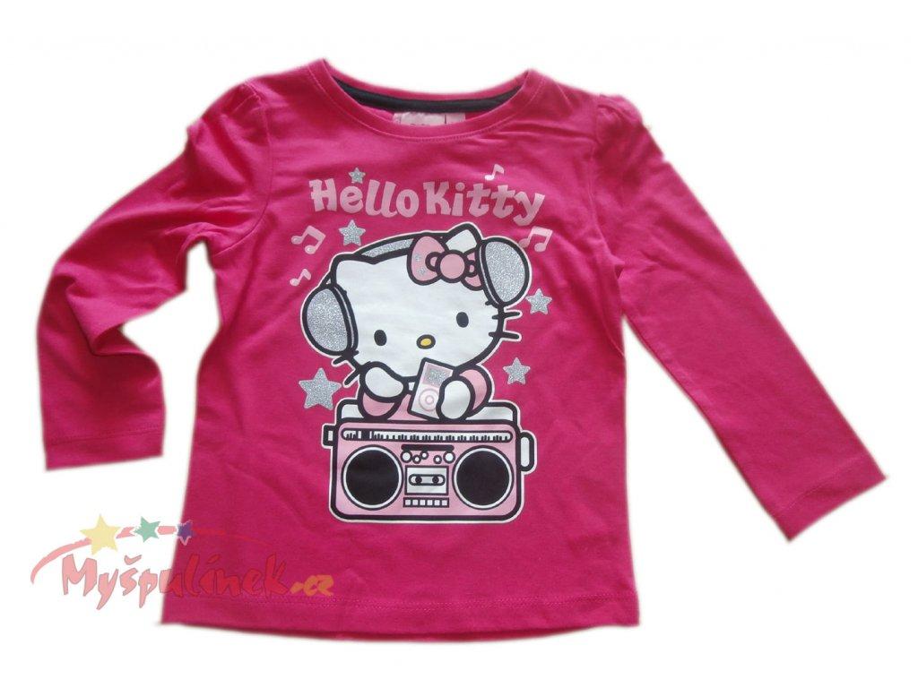 Triko Hello Kitty růžové 1236