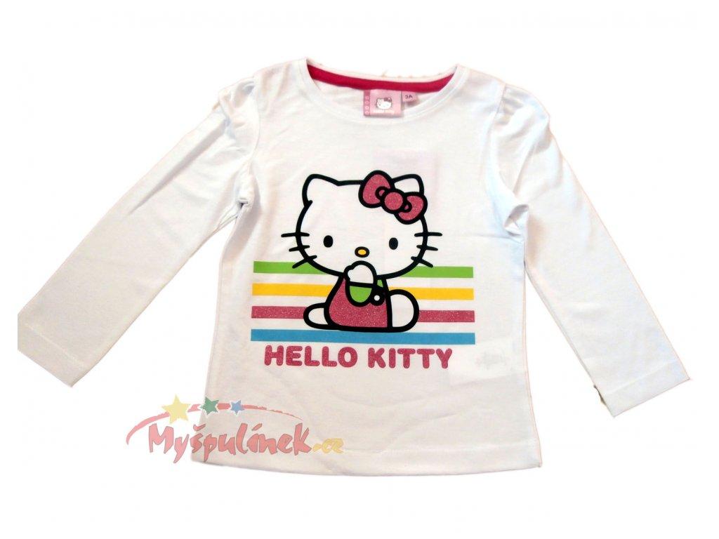 Triko Hello Kitty bílé 1236