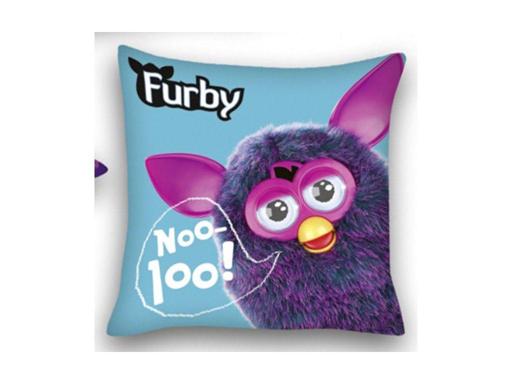 Polštářek Furby modrý 40x40