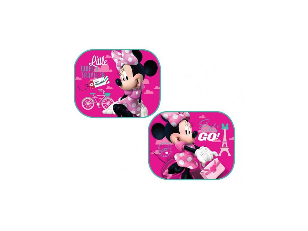 Sluneční clony Minnie Mouse růžová