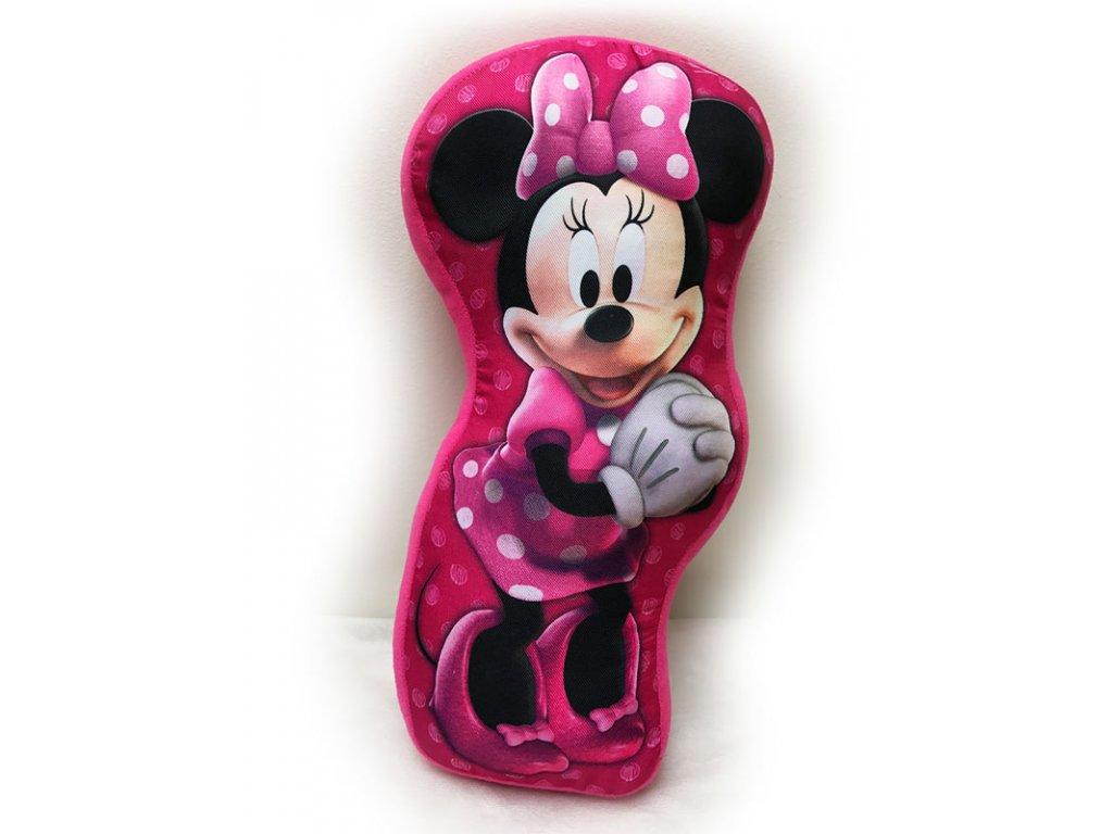 Tvarovaný polštářek Minnie 34 cm