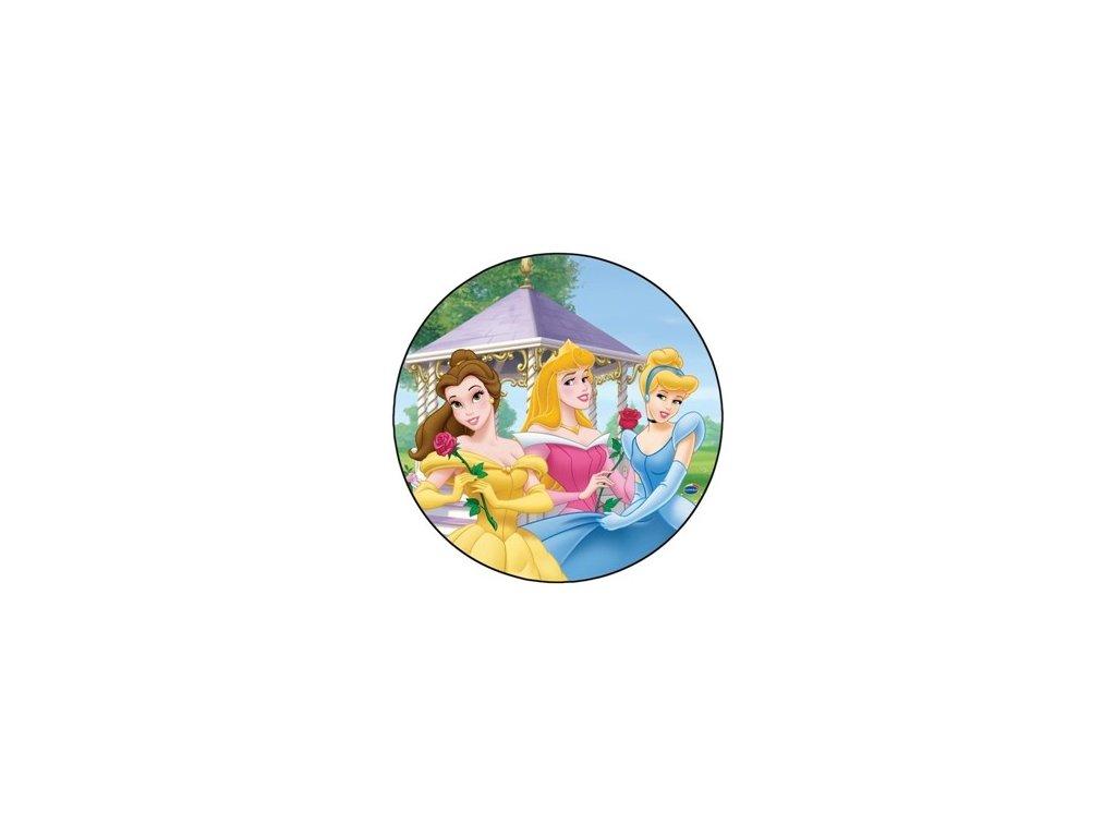 Adhezní sluneční clona do auta Princezny 1ks - skladem