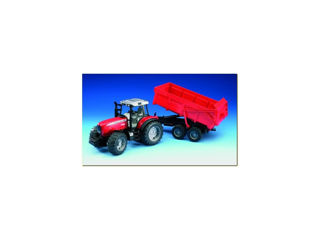 Traktor Massey Ferguson 7480 s valníkem 02045 - skladem