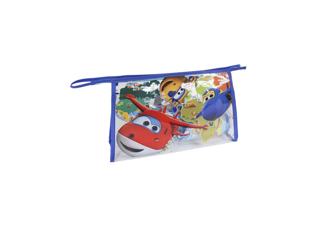 Kosmetická taška vybavená Super Wings
