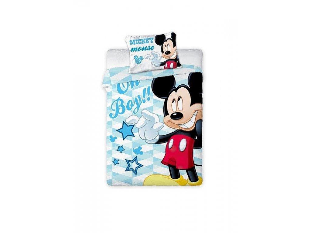 Povlečení do postýlky Mickey Mouse 100/135, 40/60