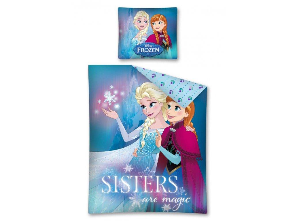 Povlečení Ledové Království magické sestry 140/200 - skladem