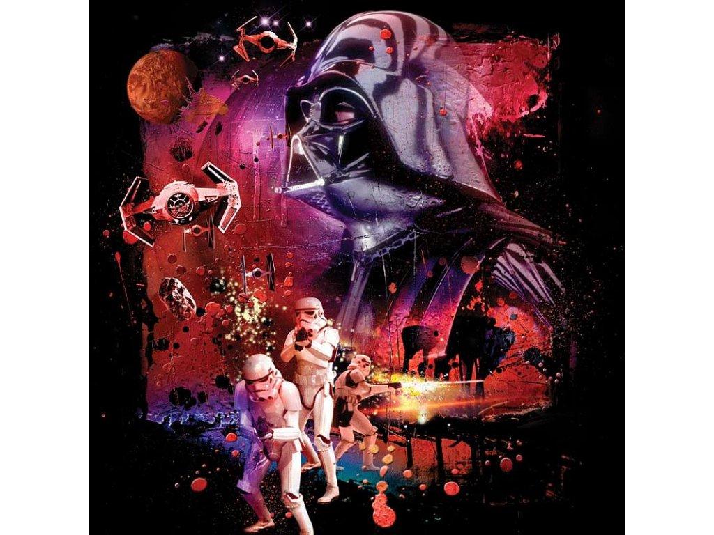 Povlak na polštářek Star Wars 082 dark power micro 40/40