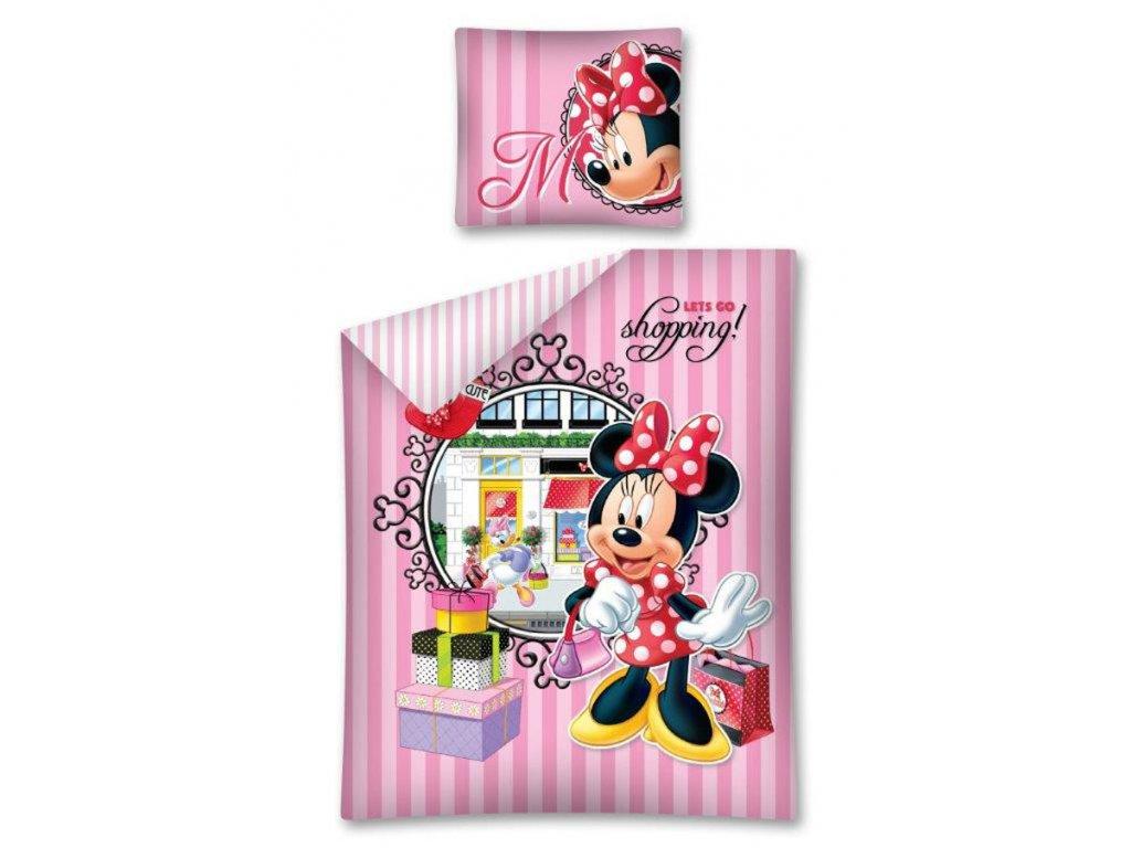 Povlečení Minnie Shopping 140/200 cm - skladem