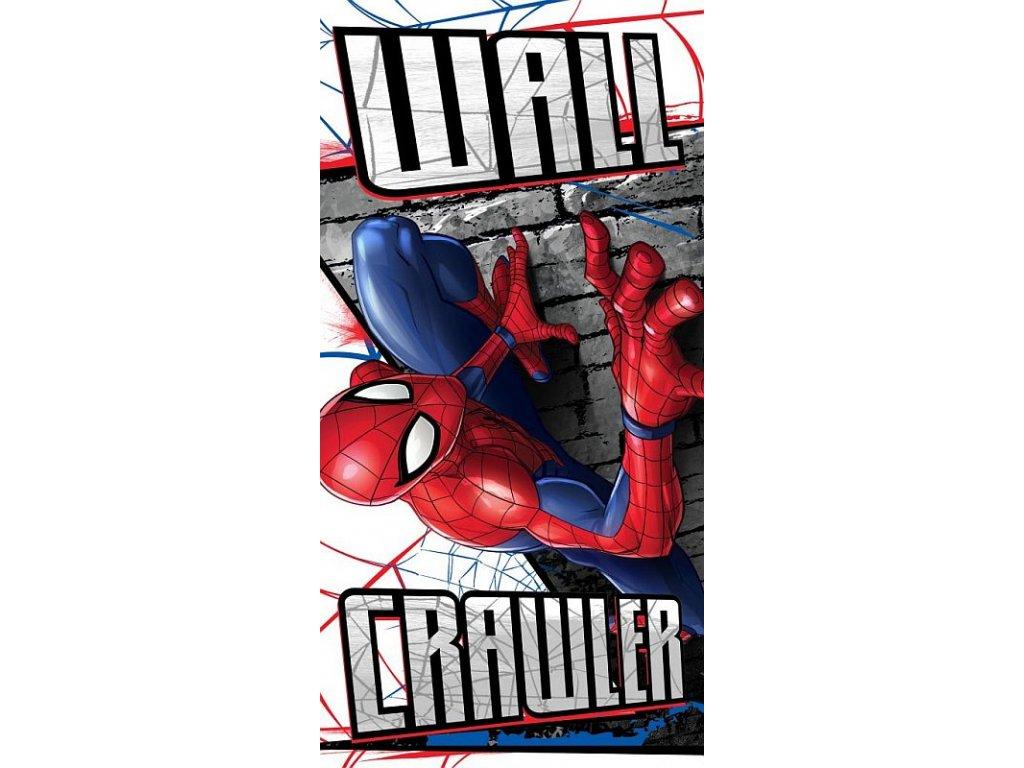 FARO Osuška Spiderman zeď Bavlna - Froté, 70/140 cm
