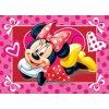 Koupelnová předložka Minnie hearts 40/60
