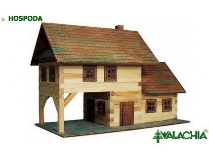 Walachia Hospoda - dřevěná stavebnice - skladem