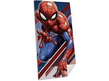Osuška Spiderman pruhy 70/140