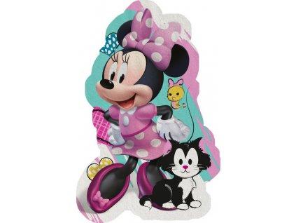 Tvarovaná Micro osuška Minnie hearts 80/120