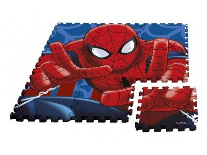 Podlahové pěnové puzzle Spiderman 9 dílu