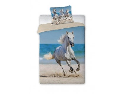 Povlečení Kůň na pláži 140/200, 70/90 - skladem