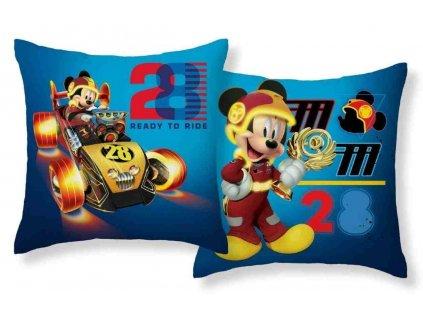 Povlak na polštářek Mickey závodník micro 40/40