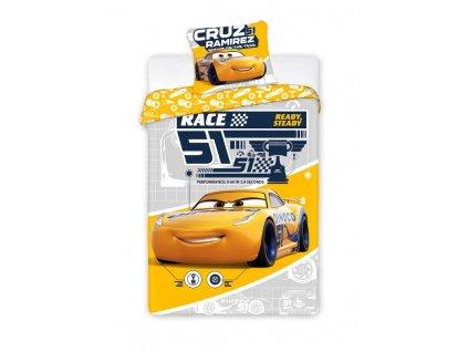 Povlečení Cars 3 Cruz 140/200, 70/90