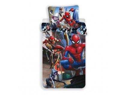 Povlečení Spiderman Action 140/200, 70/90