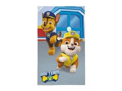 DETEXPOL Dětský ručník Paw Patrol Chase a Rubble Bavlna - Froté, 50/30 cm