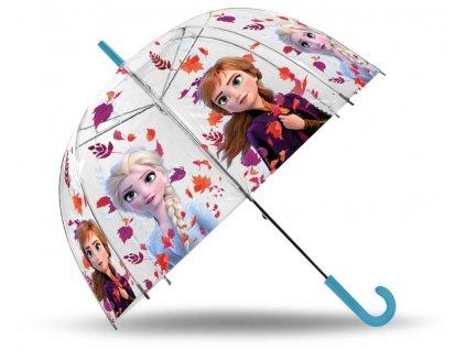 EUROSWAN Průhledný deštník Ledové Království 2 POE,