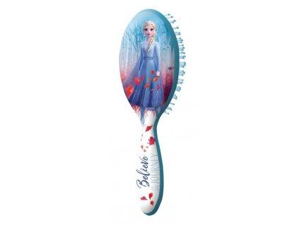 EUROSWAN Hřeben kartáč na vlasy Ledové Království 2 Elsa
