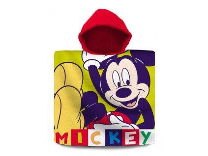 EUROSWAN Pončo Mickey color Bavlna - Froté, 60/120 cm