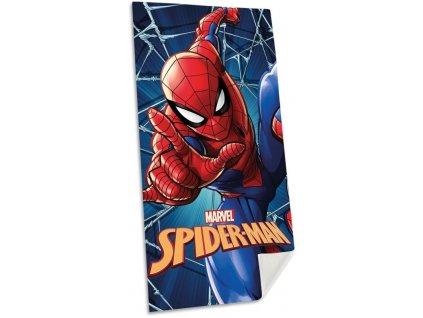 EUROSWAN Osuška Micro Spiderman blue Polyester, 70/140 cm