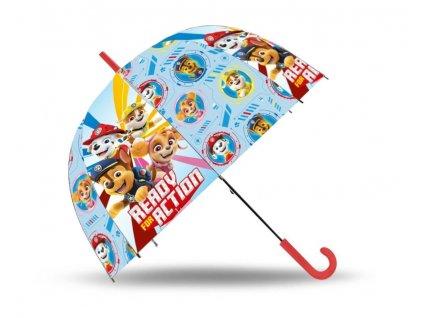 EUROSWAN Vystřelovací deštník Paw Patrol Action POE, průměr 70 cm