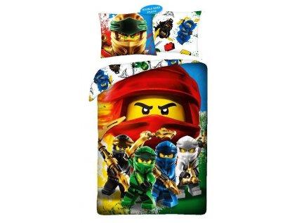 HALANTEX Povlečení Lego Ninjago Bavlna, 140/200, 70/90 cm
