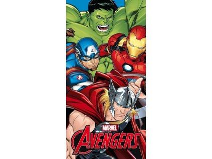 FARO Osuška Micro Avengers Polyester, 70/140 cm